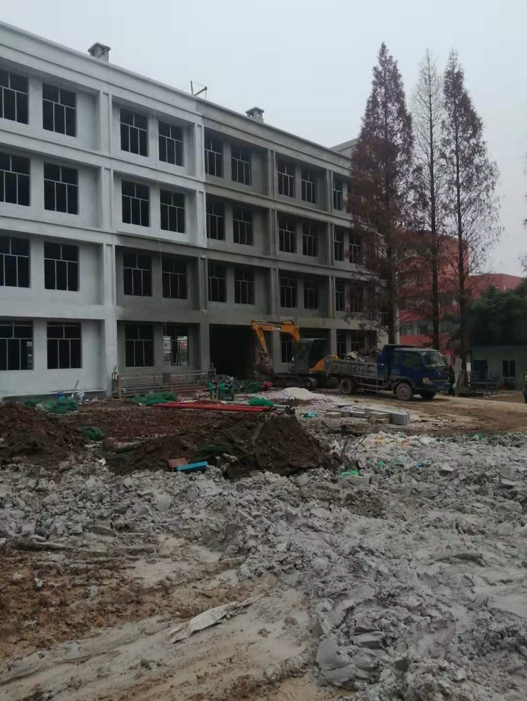 湖北洪湖市贺龙高级中学(在建)