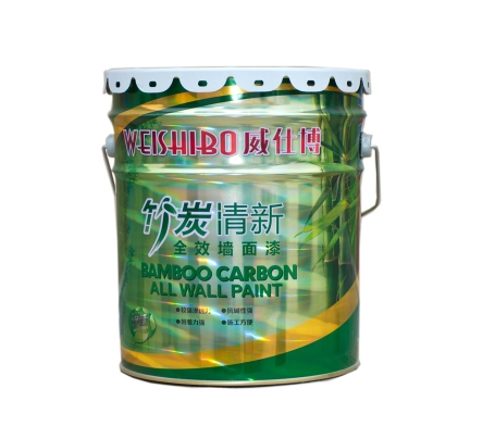 高级内墙竹碳乳胶漆